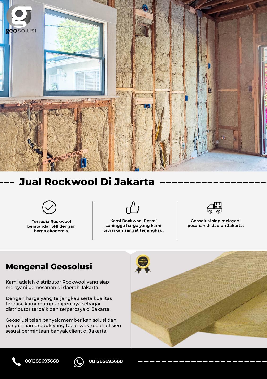 Jual Rockwool Di Jakarta