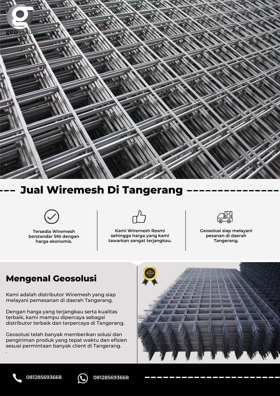 Jual Wiremesh Di Tangerang