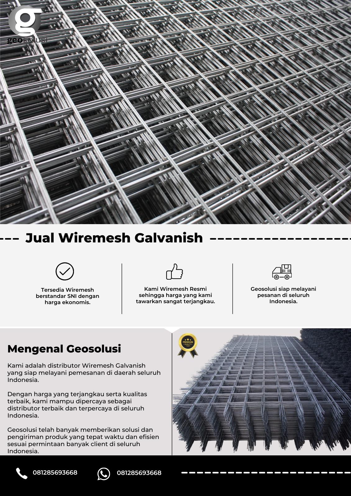 Jual Wiremesh Galvanish