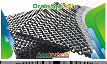 Jual Drainage Cell Geo textile - Drainage Cell Dengan Kualitas Produk Terbaik Untuk Roof Garden