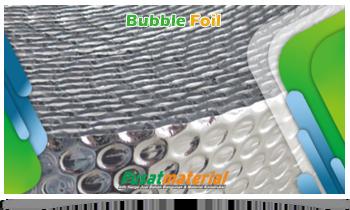 Aluminium Bubble Foil - Supplier Material Konstruksi - Jual Bubble Foil Peredam Panas Atap Ruangan