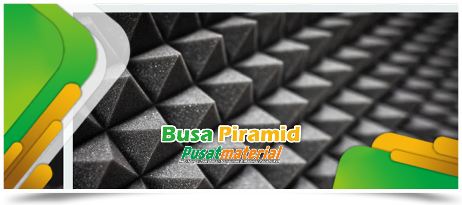 Jual BUSA PIRAMID uk.200x100x6cm - Jual Busa Piramid Busa Kedap Suara Ruangan