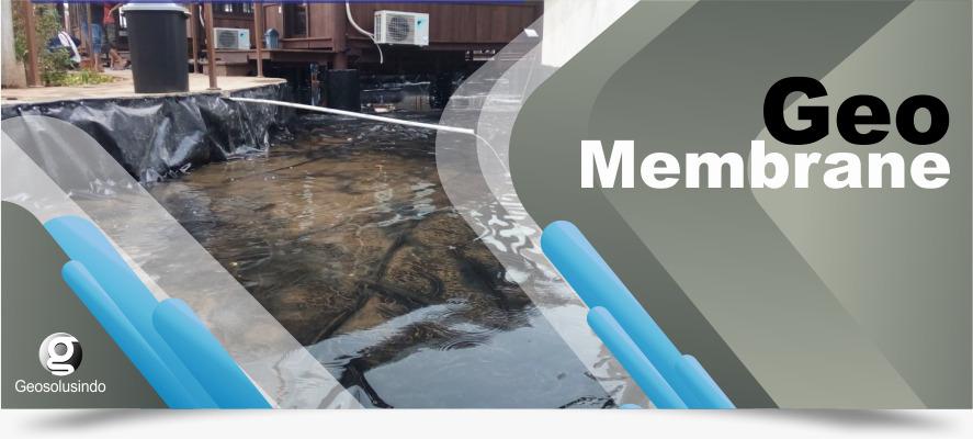 Jual Geomembrane HDPE, Harga Distributor Pabrik