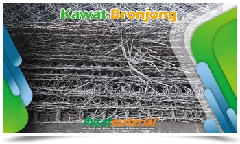 Jual KAWAT BRONJONG 2m x 1m x 1m - Jual Kawat Bronjong PVC & Galvanis berkualitas Harga Murah