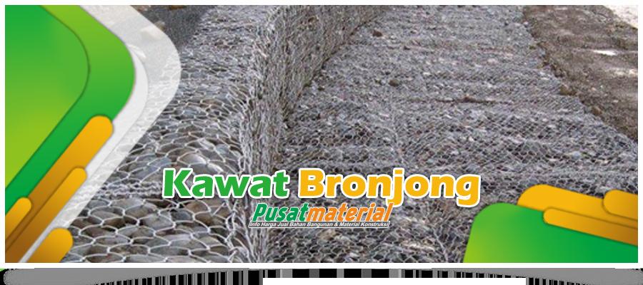 Jual Kawat Bronjong PVC & Galvanis