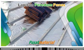 Jual Peredam Panas Atap- Aluminium Foil Atap- Thermal