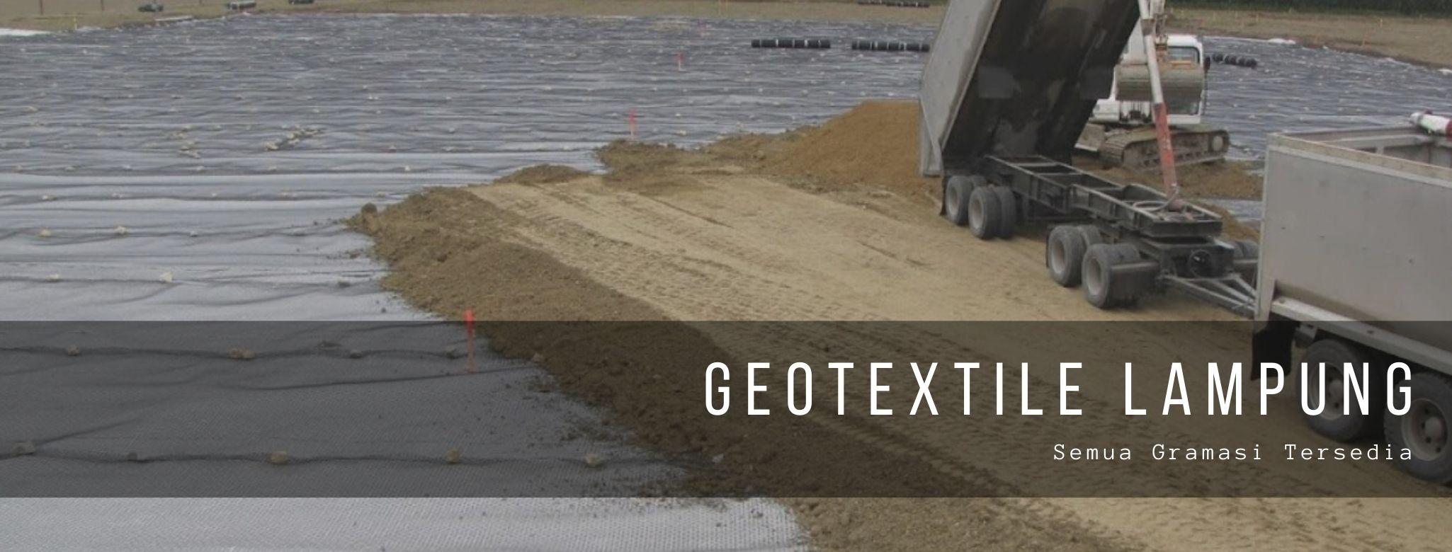 Geotextile Lampung Semua Gramasi Tersedia