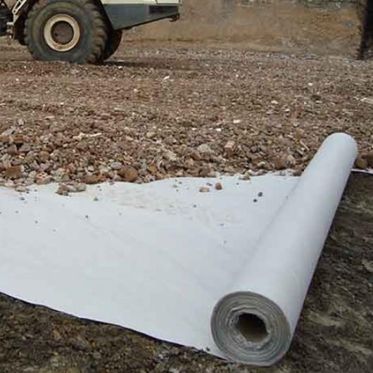 Geotextile curing beton