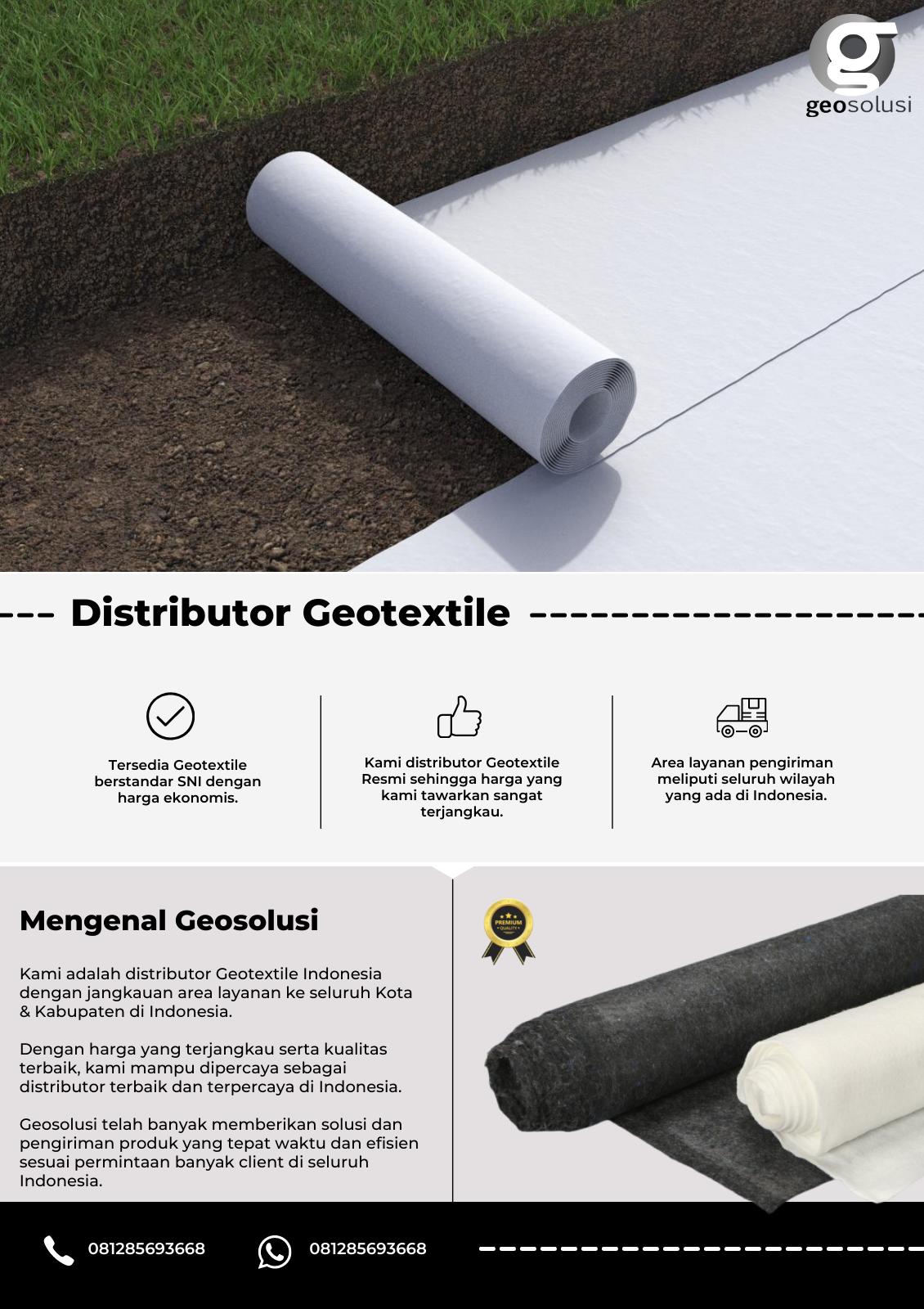 Distributor Geotextile.