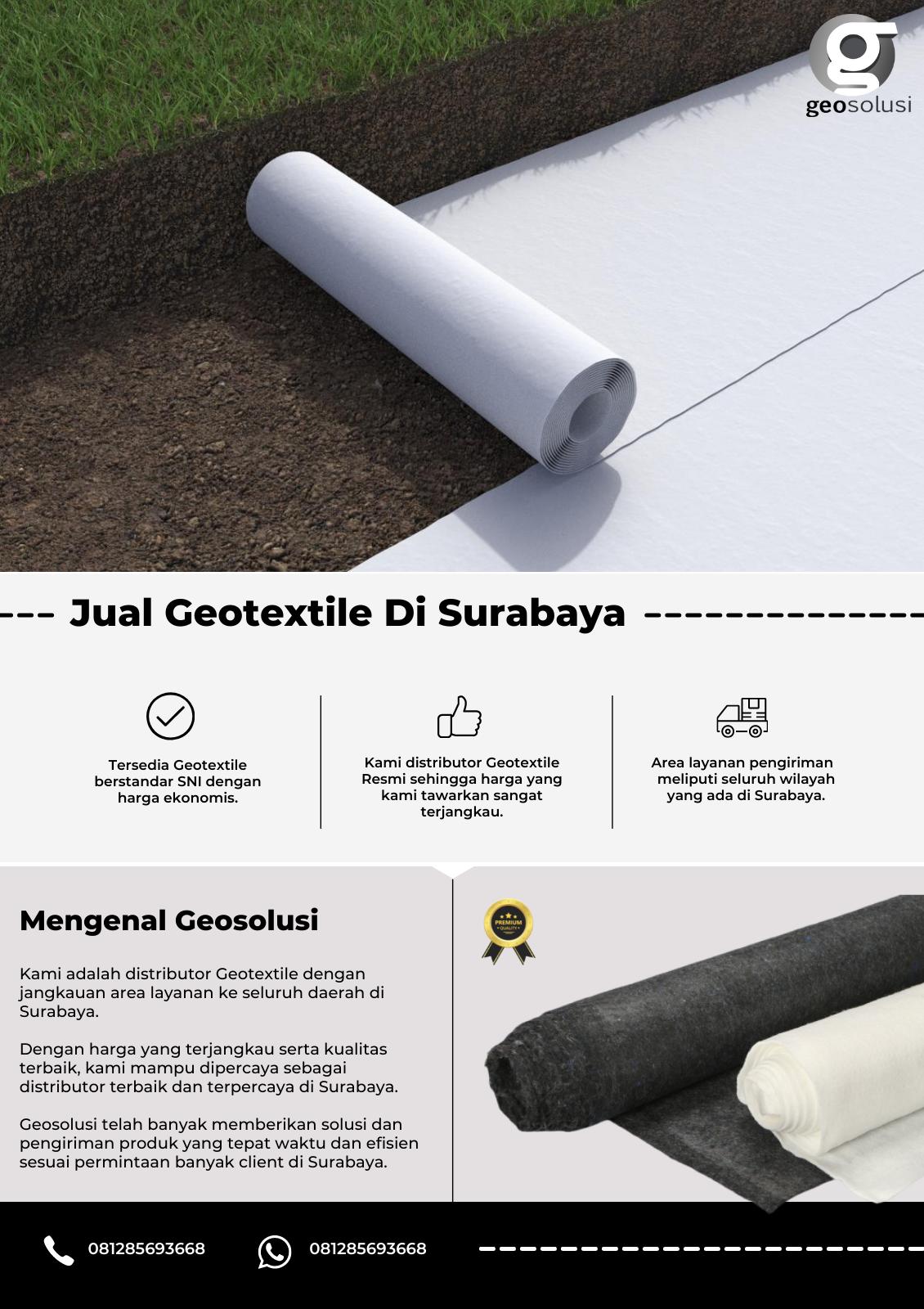Jual Geotextile Di Surabaya.