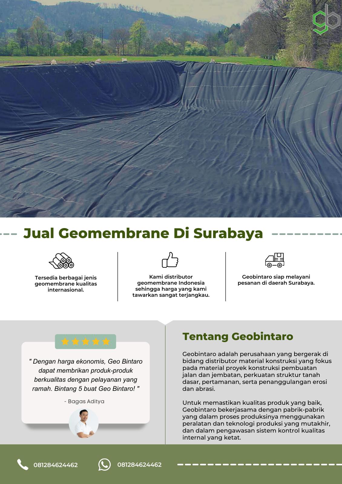Jual Geomembrane Di Surabaya