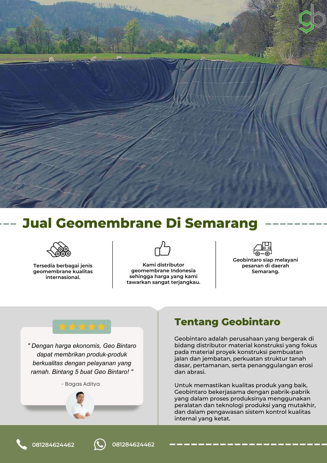 Jual Geomembrane Di Semarang