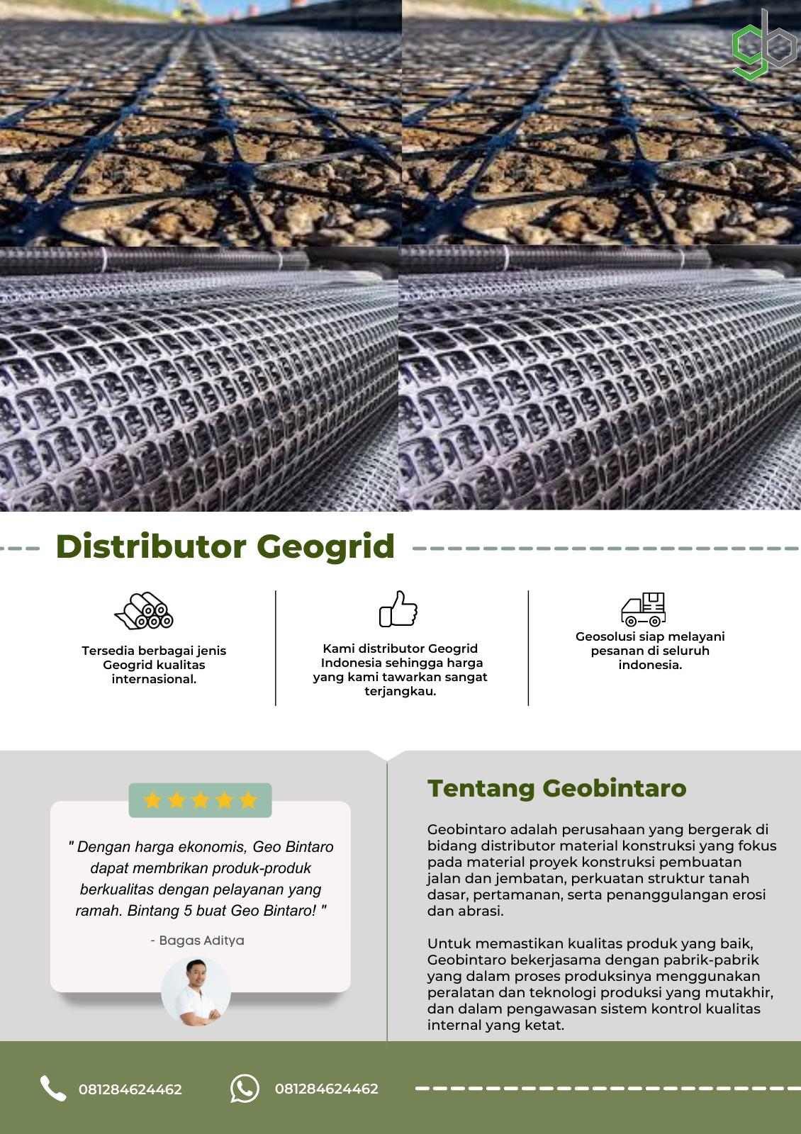 Distributor Geogrid