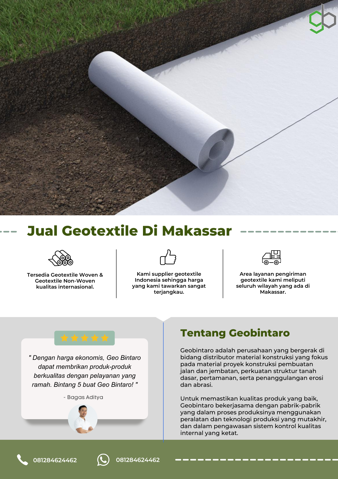 Jual Geotextile Di Makassar